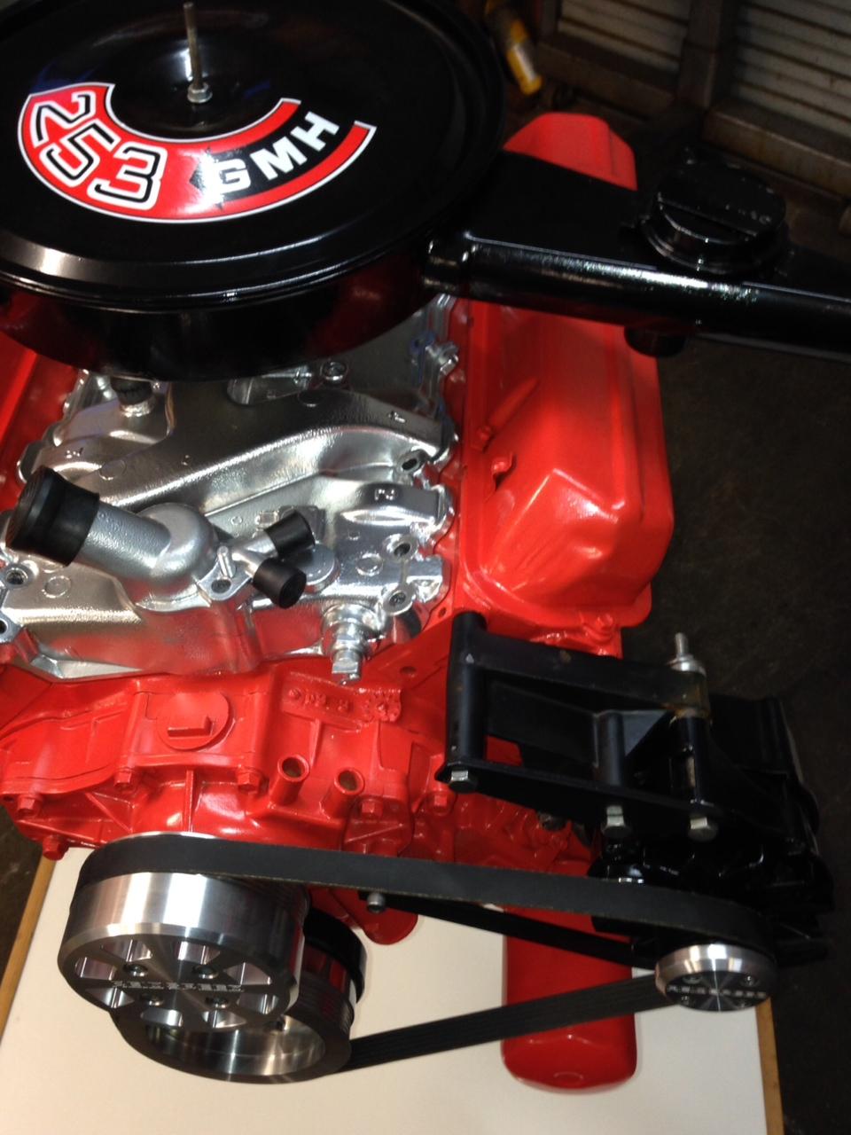 Reidspeed 187 Holden V8 Water Pump And Alternator High Mount